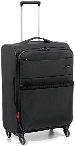 "Roncato Venice 27.5"" Expandable Spinner Luggage (One Size, Black)"