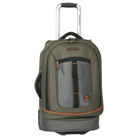 Timberland Luggage Jay Peak 21 Inch Wheeled Upright, Burnt Olive, One Size