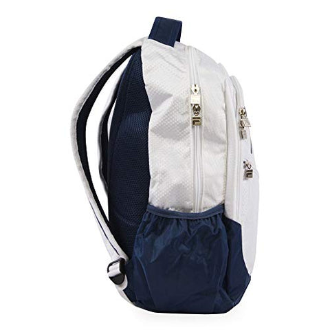 Fila August Laptop/Tablet Backpack, White One Size