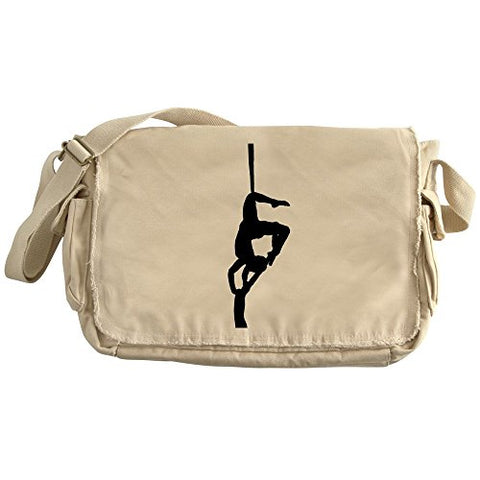 Cafepress - Flying - Unique Messenger Bag, Canvas Courier Bag