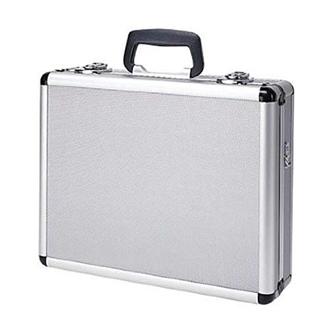 T.Z. Case International Pro-Tech 4 Pistol Promo Case, Silver, 16-Inch