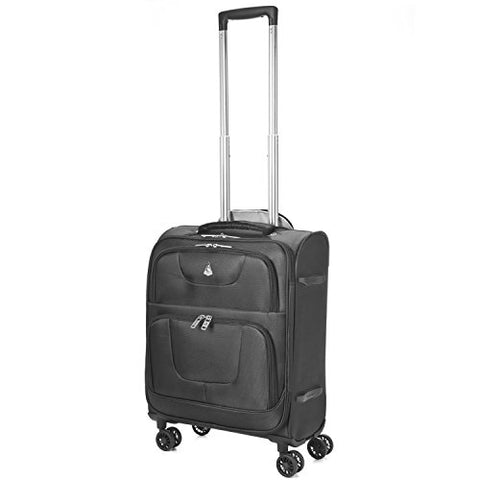 "Aerolite 4 Wheel Spinner 24X16X10"" Lightweight Luggage Suitcase -Max Carry On Size For Southwest"