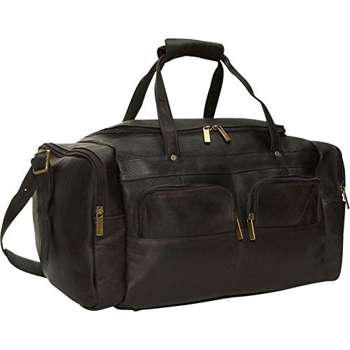 David King & Co. 19 X 9.5 Inch Multi Pocket Duffel, Cafe, One Size