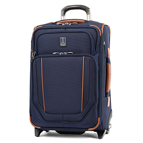 Travelpro Crew Versapack Global Carry-on Exp Rollaboard, Patriot Blue
