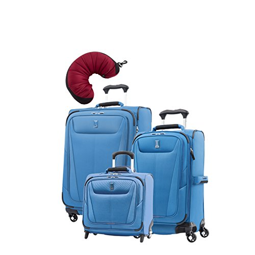 "Travelpro Maxlite 5 | 4-Pc Set | Rolling Tote, 21"" Carry-On & 25"" Exp. Spinners With Travel"