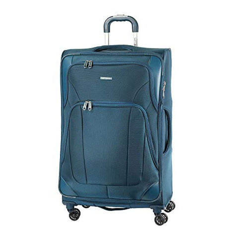 Samsonite Dakar Lite Carry-On Luggage Large Petrol Blue Travel Bag