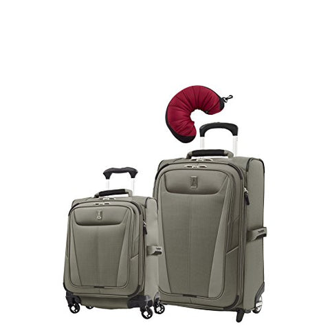 "Travelpro Maxlite 5 | 3-Pc Set | Int'L Carry-On Spinner & 22"" Carry-On Exp. Rollaboard With"