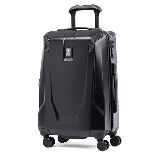 "Travelpro Crew 11 21"" Hardside Spinner Suitcase, Obsidian Black"
