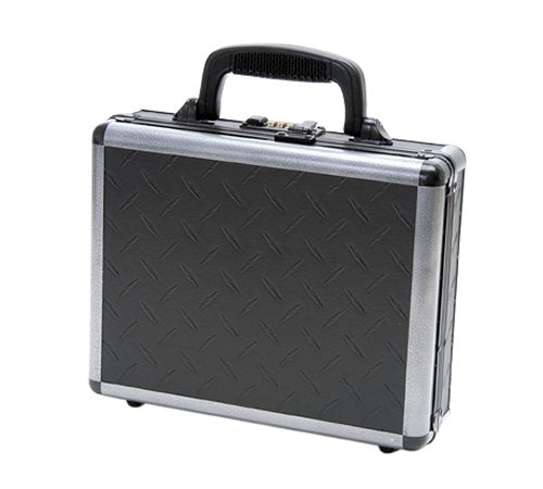 T.Z. Case International Ironite Single Pistol Case, Black, 11.5-Inch