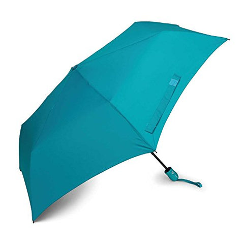 Samsonite Compact Auto Open/Close Umbrella, Teal