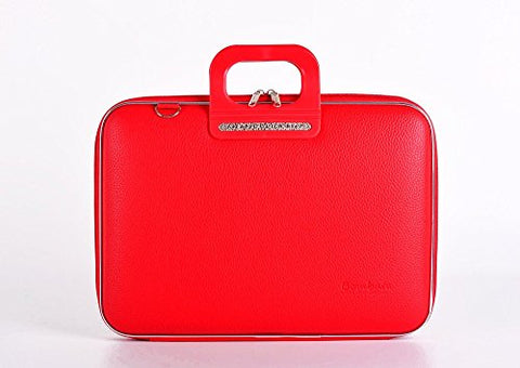 Bombata Firenze Briefcase 13-Inch (Red)