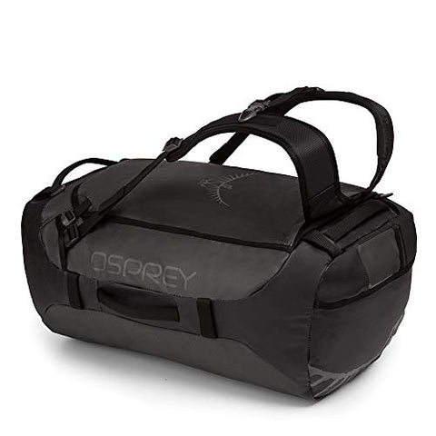 Osprey Packs Transporter 65 Expedition Duffel, Black, One Size