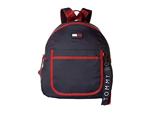 Tommy Hilfiger Women's Crewe Backpack Red/Multi One Size