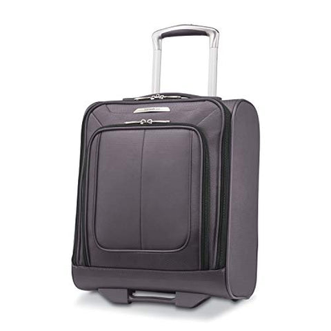 Samsonite SoLyte DLX Underseat Wheeled Carry-On (Mineral Grey)