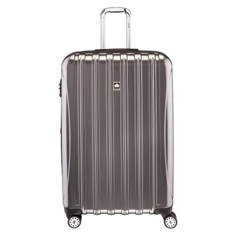 Delsey Luggage Helium Aero 29 Inch Expandable Spinner Trolley, Titanium, One Size