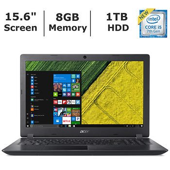 "Acer Aspire 3 15.6"" Hd Widescreen Led-Backlit Display Laptop (2018 Newest), Intel Core I5-7200U"