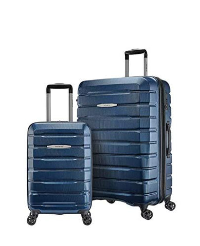 "Samsonite TECH TWO 2.0 2-Piece Hardside Luggage Set, Blue 27"" and 21"""