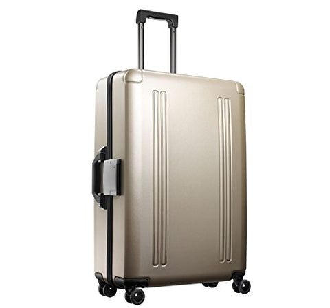 "Zero Halliburton Zro 28"" 4-Wheel Spinner Suitcase, Hardside Luggage In Gold"