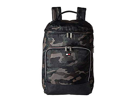 Tommy Hilfiger Unisex Top Loader Backpack Camouflage One Size