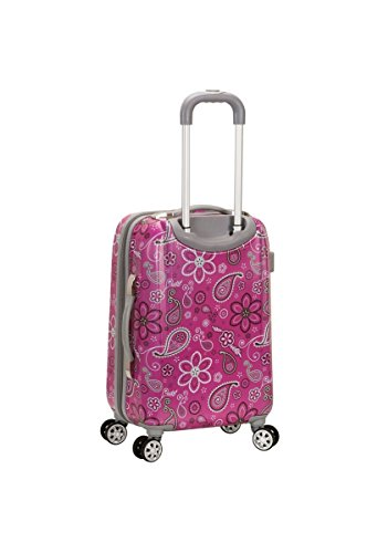 "Rockland 20"" Polycarbonate Carry on, Bandana"