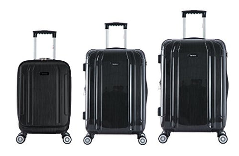 Inusa Southworld 3-Piece Hardside Spinner Luggage Set