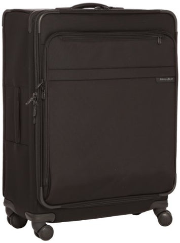 Briggs & Riley @ Baseline Luggage Baseline Expandable Durable Spinner Bag, Black, Large