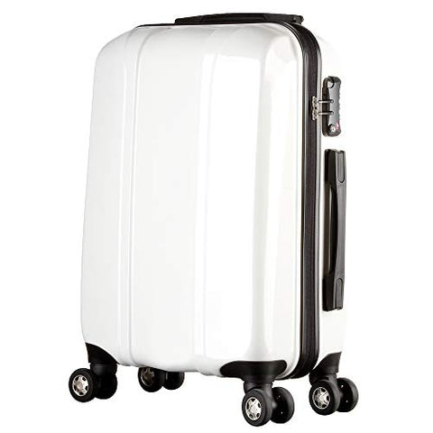 Luggage 20 Inch Carry On Hardside with Spinner Wheels TSA Lock PC + ABS Lightweight Waterproof Zipper for Business Travel