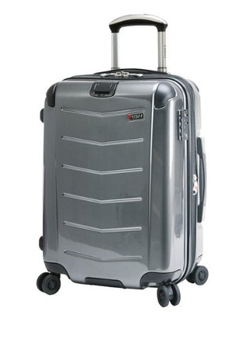 Ricardo Beverly Hills Luggage Rodeo Drive 21-Inch 4-Wheel Expandable Wheelaboard, Anthracite, One Size