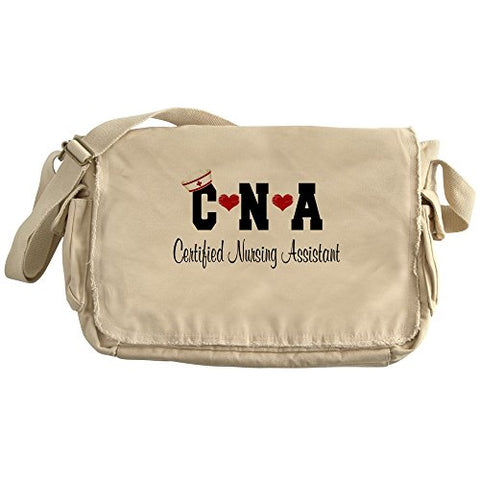 Cafepress - Certified Nursing Assistant(Cna) - Unique Messenger Bag, Canvas Courier Bag