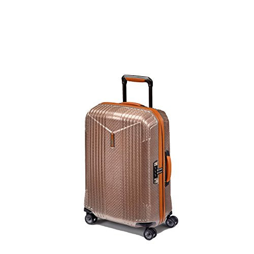 Hartmann 7R Small Spinner, Carry On Aluminum Luggage in Rose Gold