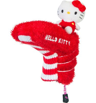 "Hello Kitty Golf ""Mix and Match"" Putter Headcover (Black/Pink)"