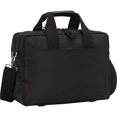 Bugatti Jason Double Gusset Laptop Briefcase Black