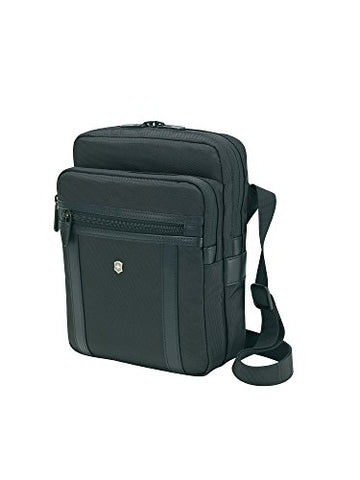 Victorinox Werks Professional Crossbody Tablet Laptop Messenger Bag, Black, One Size