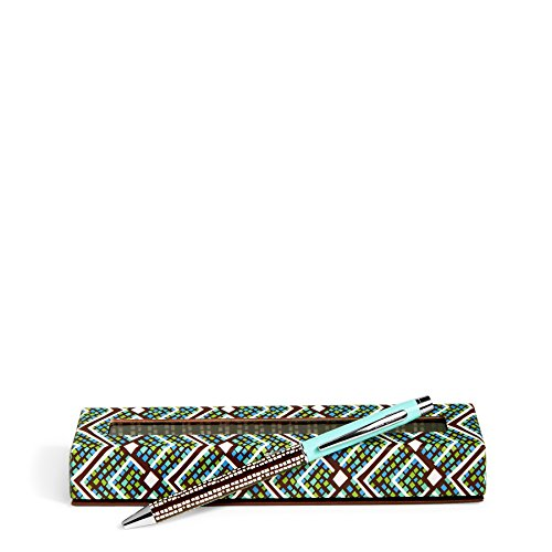 Vera Bradley Colorful Pattern Ballpoint Pen , Rain Forest (21138-G55)