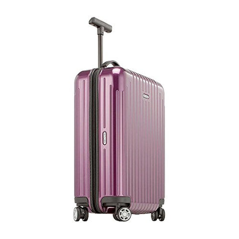 "RIMOWA Salsa Air 21""Inch Carry on Luggage Lightweight Cabin Multiwheel 33L Spinner Suitcase Violet"