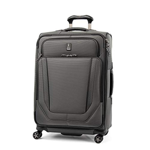 "Travelpro Crew Versapack 25"" Expandable Spinner Suiter, Titanium Grey"