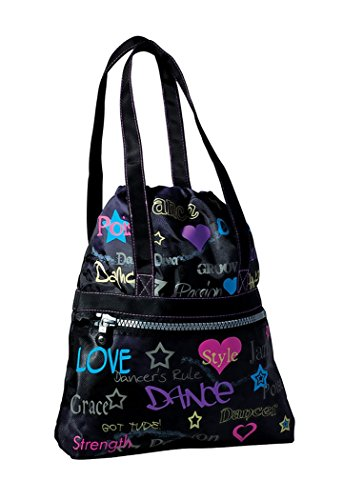 Dance Attitude Tote Bag (Colorful Screenprint Design)