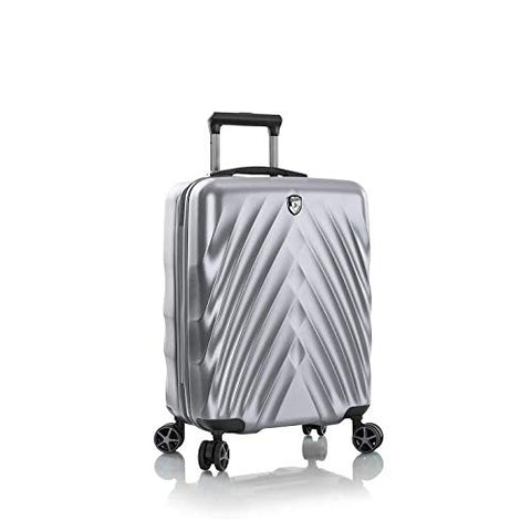 "Heys EcoLite 21"" Carry On Spinner Luggage Charcoal"
