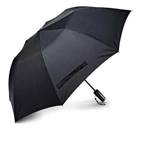 Samsonite Auto Open Travel Umbrella, Black