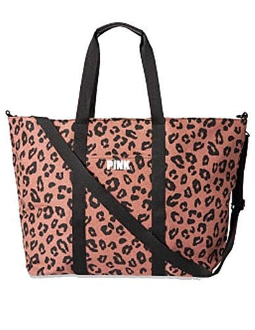 Victorias Secret Limited Sexy Leopard Wild Weekender Tote Bag, Large