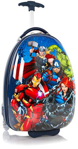 "Heys America Marvel Avengers Boy's 18"" Rolling Carry On Luggage"