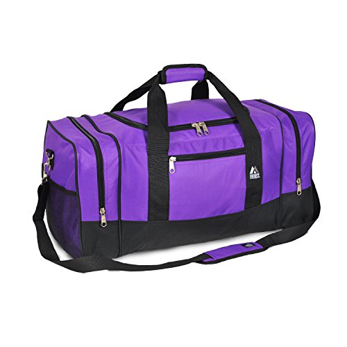 Luggage Sporty Gear Bag - Large, Dark Purple, One Size