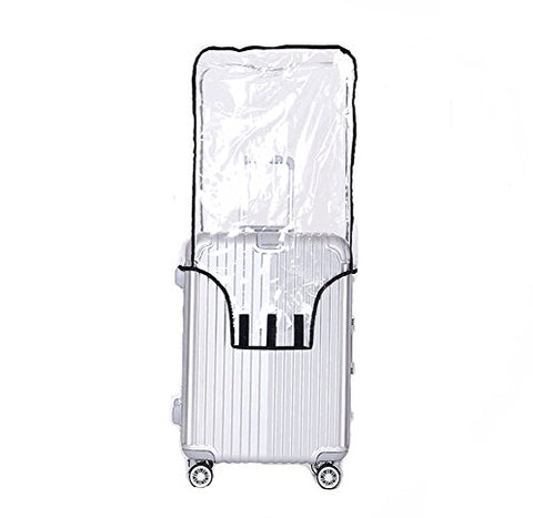 "Luggage Protector Suitcase Cover Pvc Bag Dust Proof Travel Suitcase Fits Most 20""22""24""26""28"""