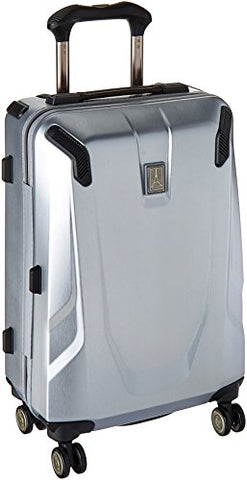 "Travelpro Crew 11 21"" Hardside Spinner Suitcase, Silver"