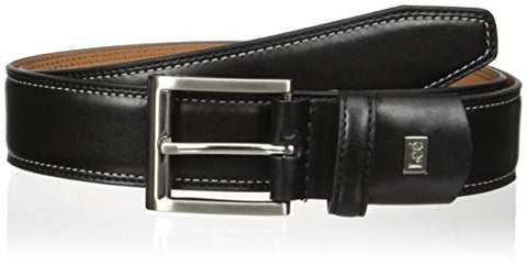Lee Men's Big-Tall Stretch Dress Belt, black, 38