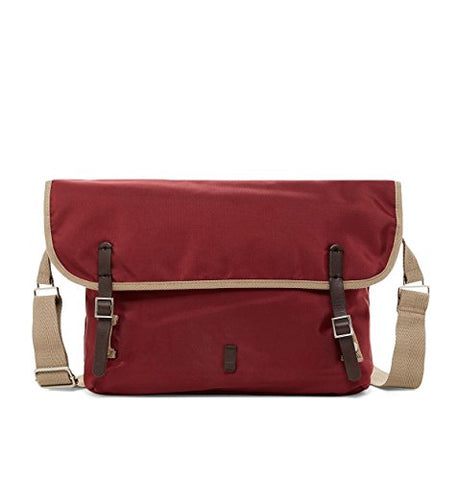 Ben Sherman Men's Pack Messenger Bag, One Size (Maroon)