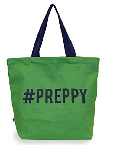 Sloane Ranger #Preppy Canvas Tote Bag