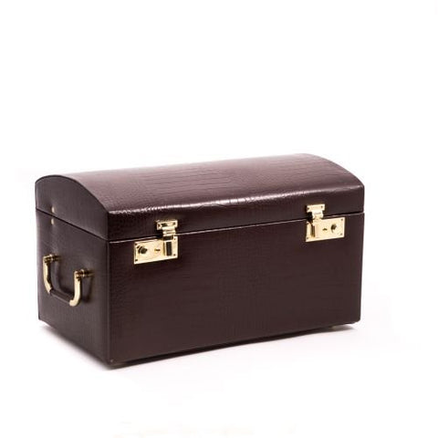 Look BB581BRW Brown Leather jwlr Case