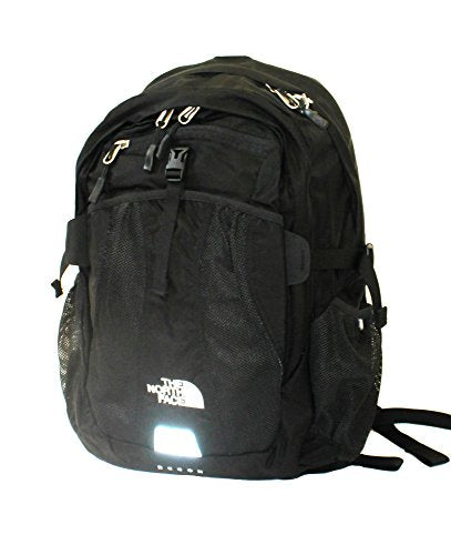 The North Face MENS Recon laptop backpack book bag 19X15X4 TNF BLACK