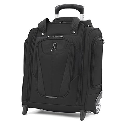 "Travelpro Luggage Maxlite 5 15"" Lightweight Carry-on Rolling Under Seat Bag, Black"
